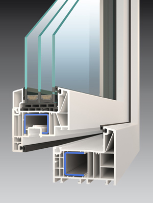 Profil okna Economy
