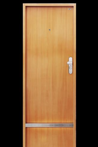 bezpečnostní dveře hladké