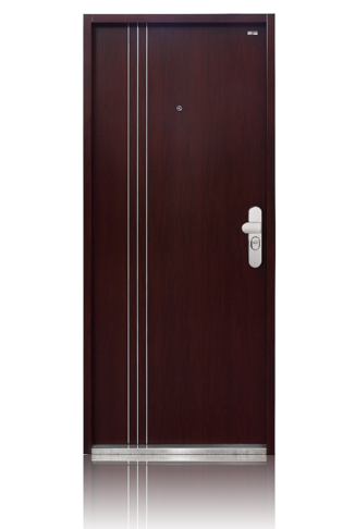 bezpečnostní dveře tři pásky