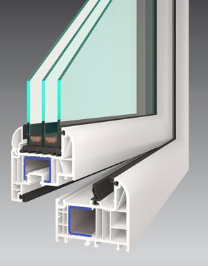 Profil okna GAMA EVO